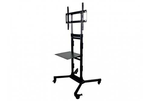 Ethereal AS-RC3260 Rolling Cart 32-60'' for TVAM/32-60, Black by Ethereal