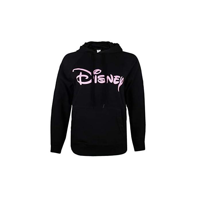 31obOlkyQqL Producto oficial de Disney. Estilo: sudadera con capucha para mujer. 80% Algodón, 20% Poliéster