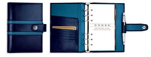 Cross Personal Agenda 1846 Leather Collection Cobalt with Aegean - Cross Personal Agenda