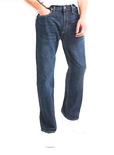 GAP Men's Relaxed Fit Jeans, Medium Indigo Wash, Non-Stretch (33x34)