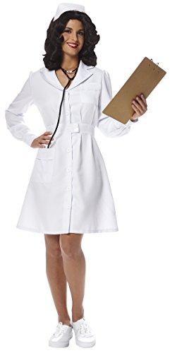 Womens Vintage Nurse Costume S -