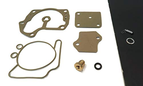 - The ROP Shop Carburetor Repair Kit with Needle, Seat, O-Rings & Gaskets for Evinrude 0434439