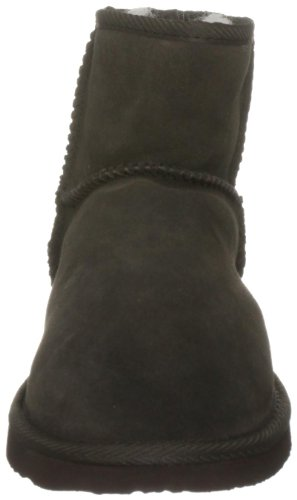 Ukala Women's Sydney Mini Ankle Boots Chocolate H5TDqwiumJ