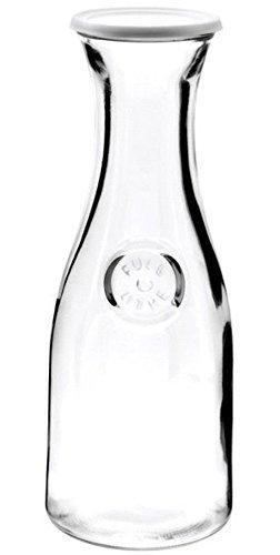 Anchor Hocking 34 oz. Glass Carafe 1 ltr., 4'' Diam. X 11'' H, Set of 3 by Anchor Hocking
