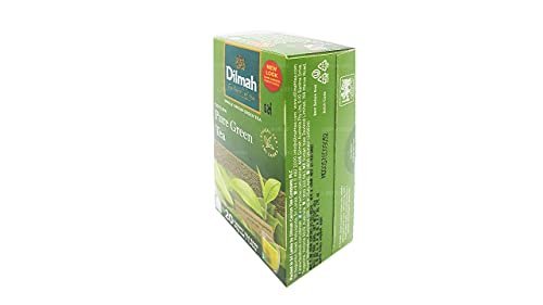 DILMAH Pure Green Green Tea 1.5g. x 20teabags