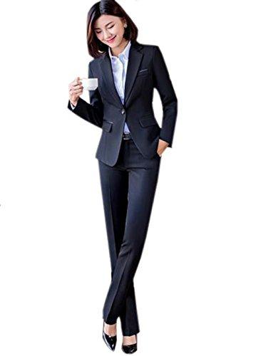 マークされたコテージ唇GuDeKe レディース セットスーツ パンツスーツ スカートスーツ フォーマルスーツ 3点セット 女性 通勤 OL オフィス ビジネス お洒落
