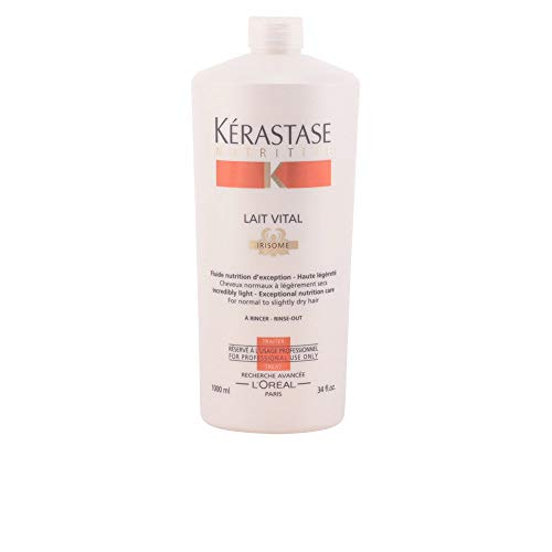 Kerastase 16354900444 Nutritive Lait Vital Incredibly Light for Normal to Slightly Dry Hair, 34 Ounce ()
