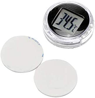 Kitchen Digital Thermometer Digital Waterproof Stick On Motorcycle Thermometer AOZBZ Motorcycle Thermometer
