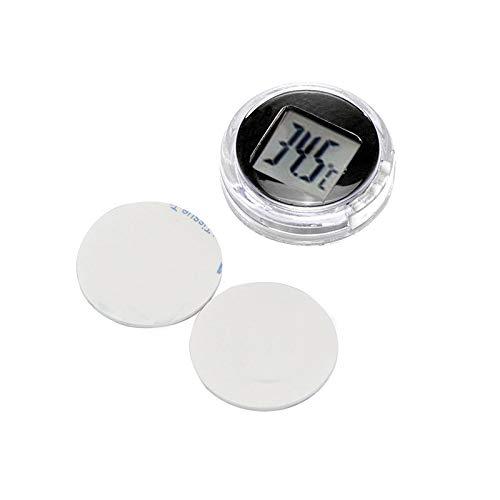 SmartHitech Digital Temperature Monitor Tester Stick-On Rivelatore Termometro Impermeabile per Bagno Cucina Auto Moto