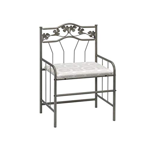 home, kitchen, furniture, bedroom furniture,  vanities, vanity benches 11 on sale 2-piece Vanity Set Pewter and Ivory in USA