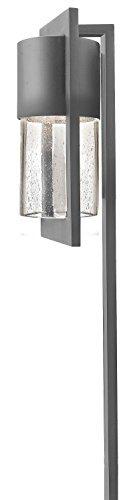 Hinkley Lighting 1547HE Dwell 18-Watt T-5 Wedge Base Light Bulb Low Voltage Path Light, Hematite Finish by (Hematite Finish)