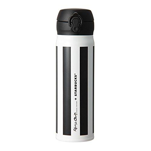 Starbucks Japan 2015 ALICE + OLIVIA Stripe Handy Stainless Bottle 500ml NEW!! Rare! Limited! Shipping from JAPAN