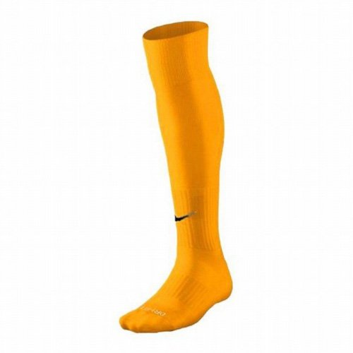 Nike Men`s Classic Cushioned Soccer Socks (Large, Yellow/...