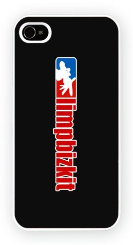 Limp Bizkit - logo, iPhone 4 4S, Etui de téléphone mobile - encre brillant impression
