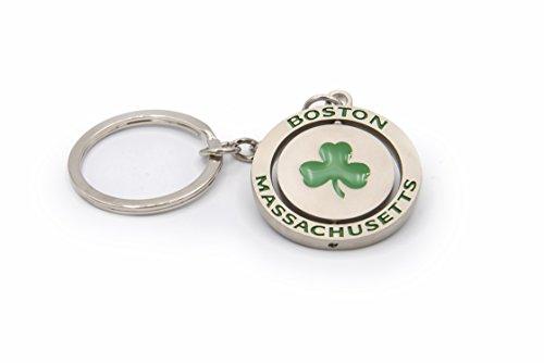 - Shamrock Spinner Key Chain