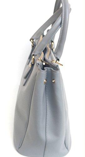 Superflybags femme Gris pour main grigio à Sac rwOC7qr