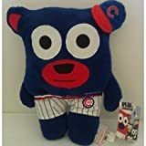 MLB Chicago Cubs Bear In Underwear Plush Toy, Blue, Small