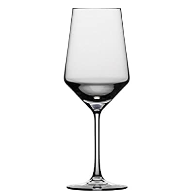 Schott Zwiesel Tritan Crystal Glass Pure Barware Collection Stemless Bordeaux Red Wine Glass, 18.5-Ounce, Set of 6
