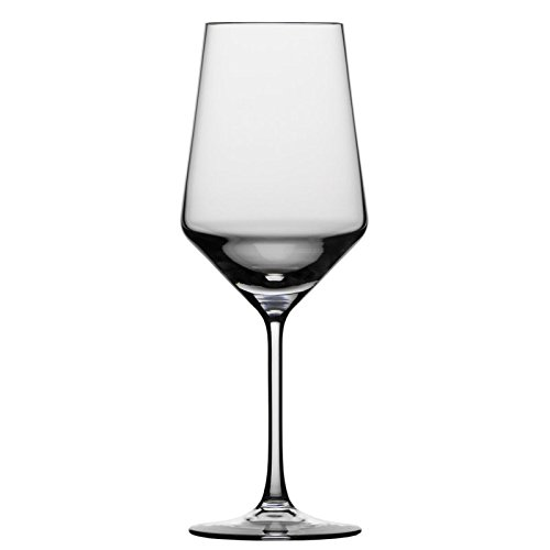 Schott Zwiesel Tritan Crystal Glass Pure Stemware Collection Cabernet/All Purpose, Red or White Wine Glass, 18.2-Ounce, Set of 4 by Schott Zwiesel