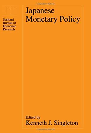Japanese monetary policy national bureau of economic research project report ebook - Bureau for economic research ...