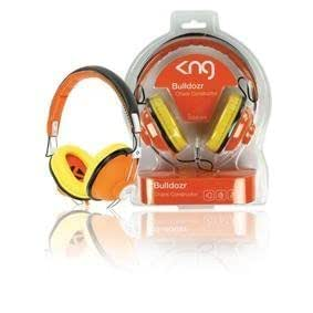 KNG Bulldozr Chaos Constructor Designer Headphones - Orange by KNG