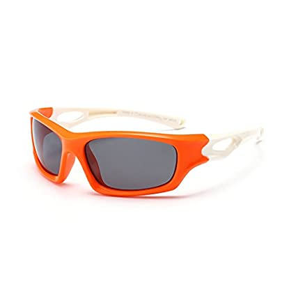 GR Gafas de sol para niños Sport Driving TR90 Infantil Niños Gafas de deporte Accesorios para