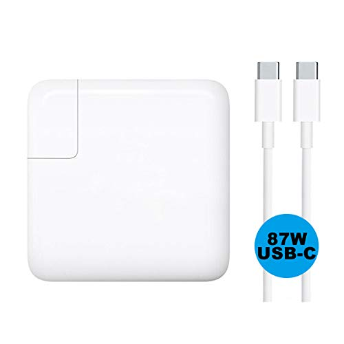 Price comparison product image SP 87W USB-C Power Adapter, Fast 87W Type C Power Adapter PD Charger(Include 5A USB-C to USB-C Charge Cable)