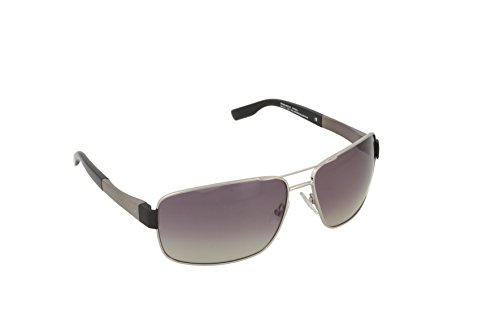 Amazon.com: BOSS by Hugo Boss B0521S Polarized Wrap Sunglasses,Matte Black,64 mm: Clothing
