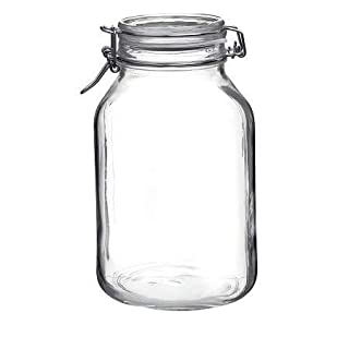 Bormioli Rocco Fido Round Jar, 101-1/2-Ounce, Clear (B0001BMYHK) | Amazon price tracker / tracking, Amazon price history charts, Amazon price watches, Amazon price drop alerts