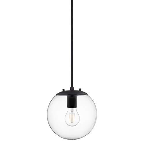 Black Sphere Pendant Light in US - 8