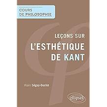 Leçons Sur l'Esthétique de Kant (cours de Philosophie)