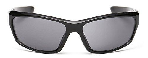 Sports Sunglasses for Baseball Running Cycling Fishing Golf Unbreakable Frame 100% UV - Black Bans Ray Ebay