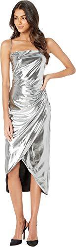 Bardot Women's Runaway Dress Silver ()
