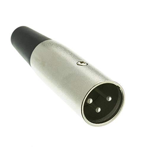 (GOWOS XLR Male Connector, Solder Type, 3)