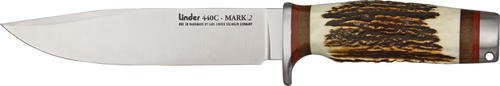 Cheap Linder 107515 Mark 2 Stag Bowie Hunting Knife with Sheath
