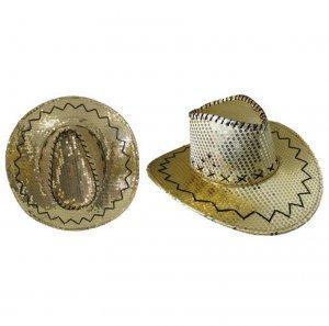 Western nbsp;cowboy 1 Erwachsene Hut Dore Pailletten wIcPxUZ