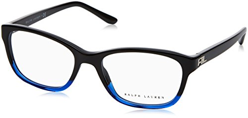 Ralph Lauren RL6140 Eyeglass Frames 5582-52 - Black Gradient Blue - Blue Lauren Ralph Glasses