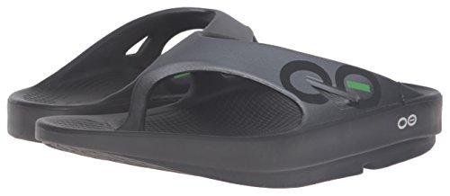 La Aprs Sandale String Oofos Unisexe Sport Original Graphite Rcupration Course De zn0AYxw