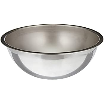 Vollrath (69050) Heavy Duty Mixing Bowl (5-Quart, Stainless Steel)