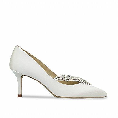 des DIDIDD Chaussures de Petites Une Talons 35 avec Hauts Chaussures d'honneur à Demoiselle 8H8prSg