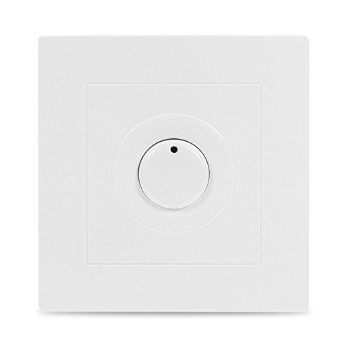 KUNSE Tiempo De Retardo Interruptor Temporizador Interruptor Panel Blanco De Ahorro De La Energí a De 220V
