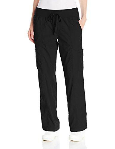Meds Collection (Med Couture Women's Comfort Collection Pant, Black, X-Small Tall)