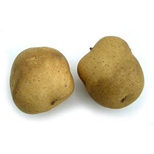 Small Brown Potato, Artificial Vegetable Fake Food, Bag of 24 94