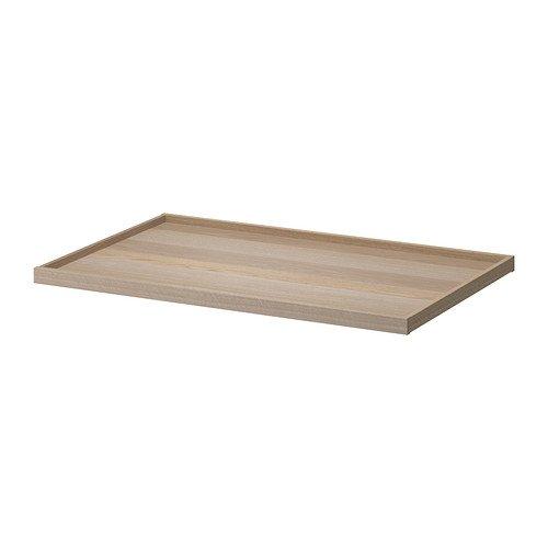 Ikea KOMPLEMENT - Bandeja extraíble, Blanco Efecto Roble teñido - 100x58 cm: Amazon.es: Hogar