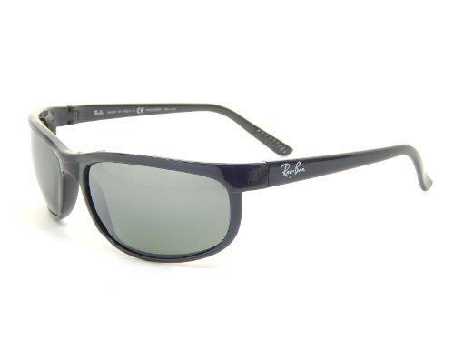 New Ray Ban Polarized Predator 2 RB2027 601/W1 Black/Gray Polarized 62mm Sunglasses