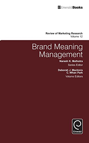 Brand Meaning Management (Review of Marketing Research)