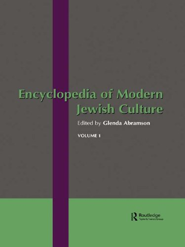 Encyclopedia of Modern Jewish Culture Pdf