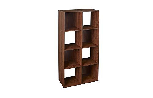 ClosetMaid 4106 Cubeicals Organizer, 8-Cube, Dark Cherry (Wood Storage Unit)
