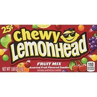 Chewy Lemonhead Fruit Mix Candy Boxes, Assorted Flavors, 0.8 Ounce Each (Pack of 24) Thank you so much for your purchase. I hope you are happy with it and I hope to do business with you again.