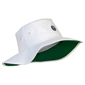 Wimbledon Wide Brim Sun Hat - White  Amazon.co.uk  Sports   Outdoors 00bc06a6353